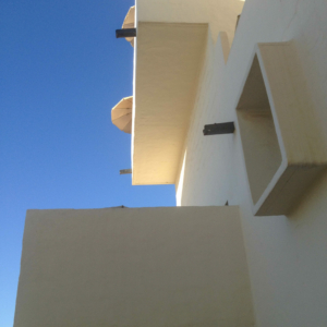 White Buildings, Lanzarote, Canary Islands, Spain