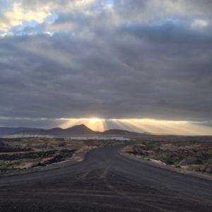 Sunrise over Club la Santa, Lanzarote, Canary Islands, Spain