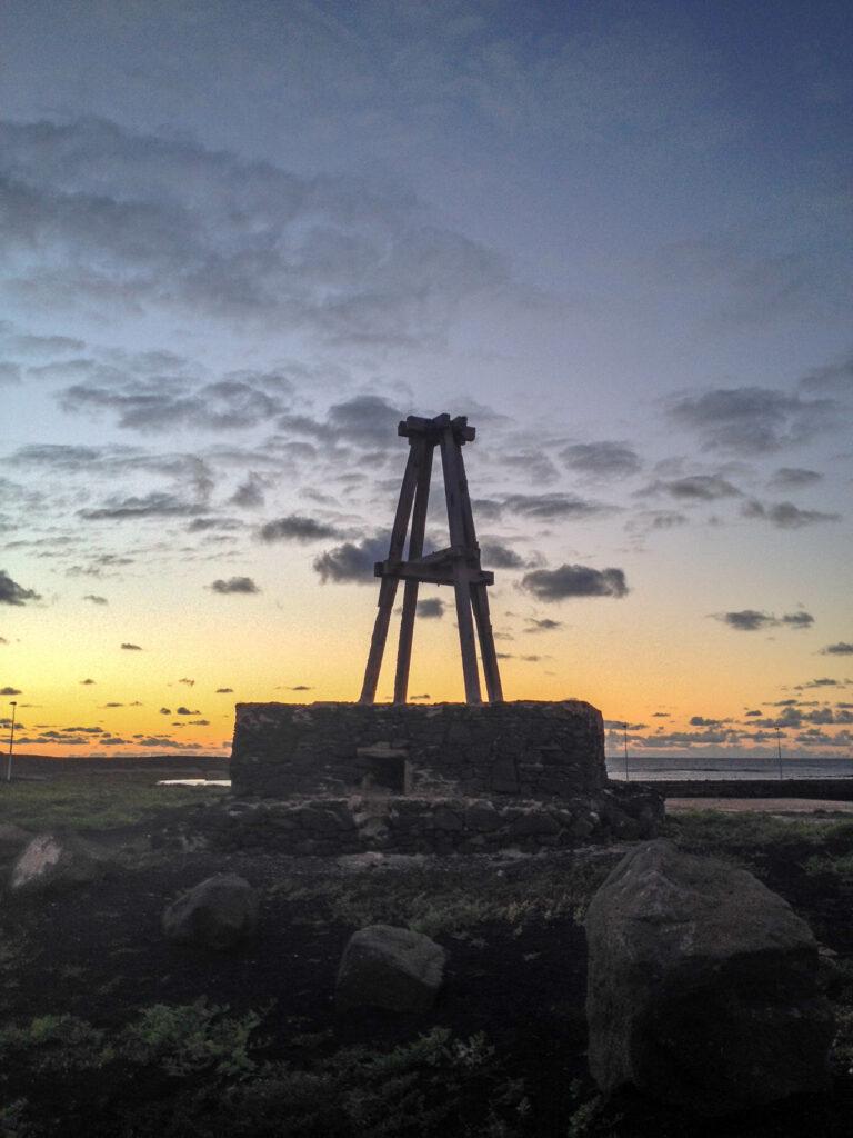 Abandoned Windmill, La Santa, Lanzarote, Canary Islands, Spain