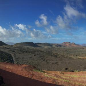 Timanfaya National Park, Lanzarote, Canary Islands, Spain