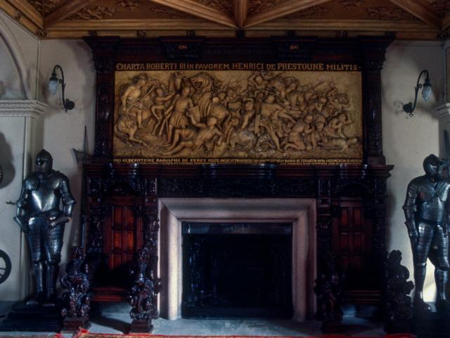 Front Hall, Fyvie Castle, Aberdeenshire