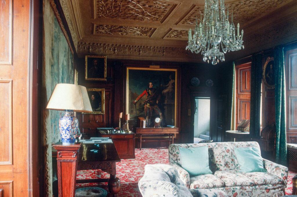 Morning Room, Fyvie Castle, Aberdeenshire