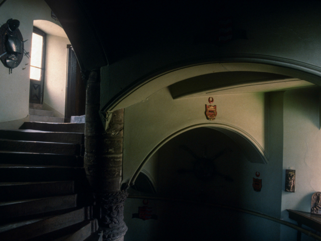 Grand Staircase, Fyvie Castle, Aberdeenshire