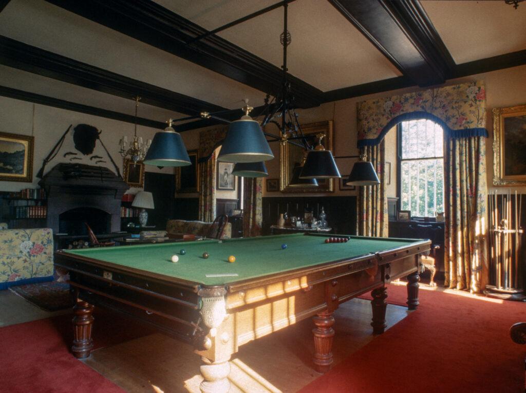 Billiard Room, Fyvie Castle, Aberdeenshire