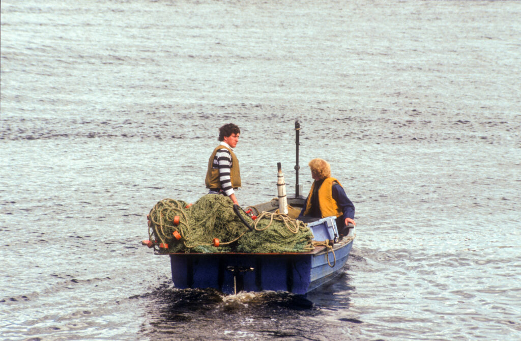 Salmon Fishermen, River Dee, Aberdeen