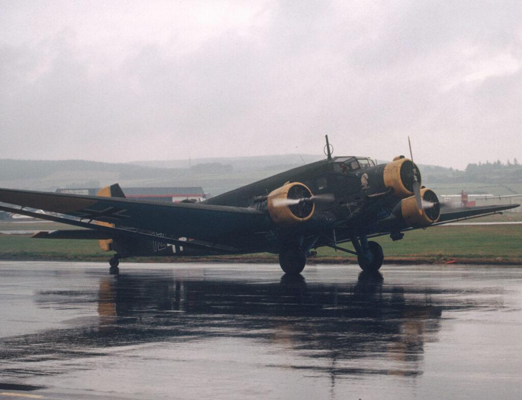Junkers JU52 at Aberdeen Airport