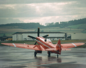 Spitfire Mk XIV G-FIRE
