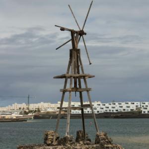 Old Windmill, La Santa